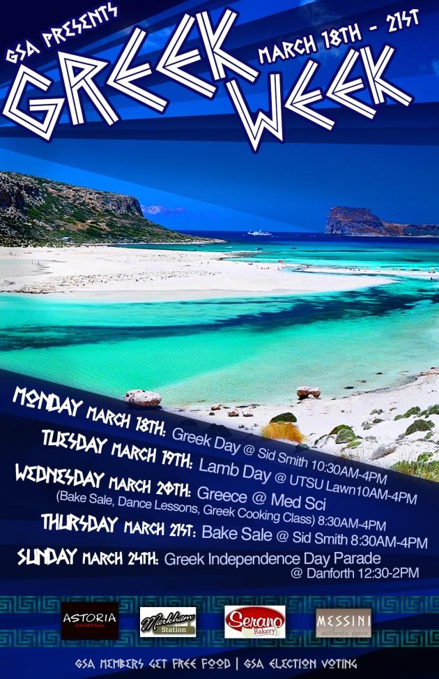 GreekWeek Poster